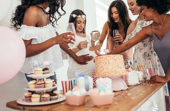 Tips para organizar un baby shower